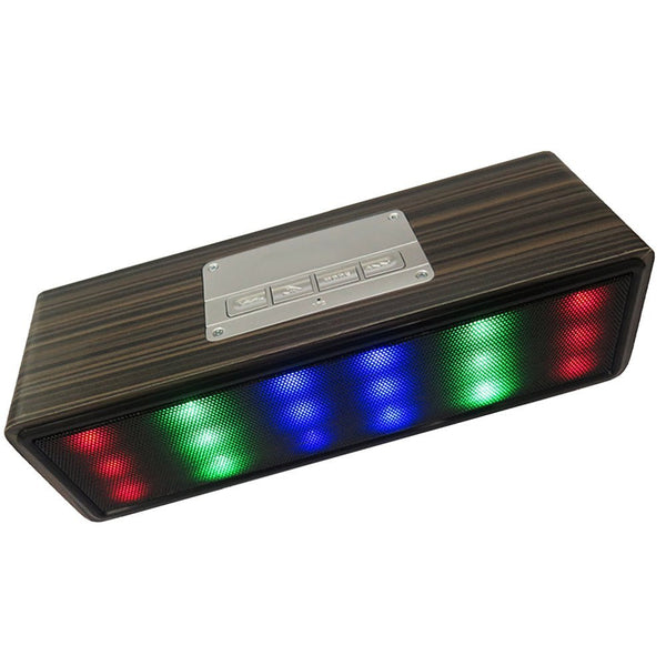 Disco Box Wireless Bluetooth Speaker with LED Light