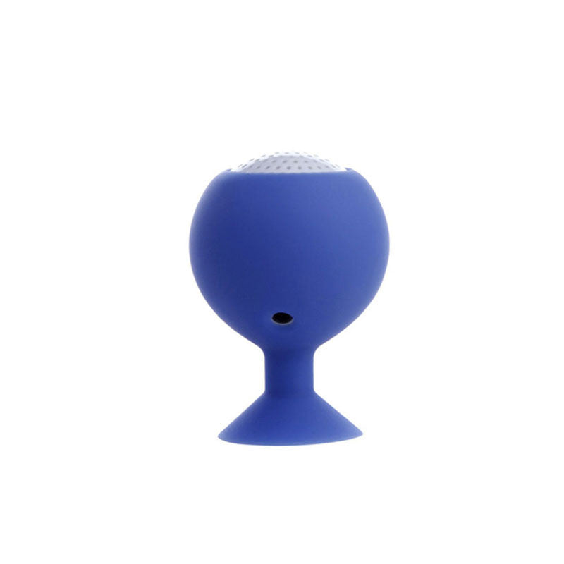 High Quality Mushroom Mini Wireless Bluetooth Speaker Candy Color Silicone Sucker