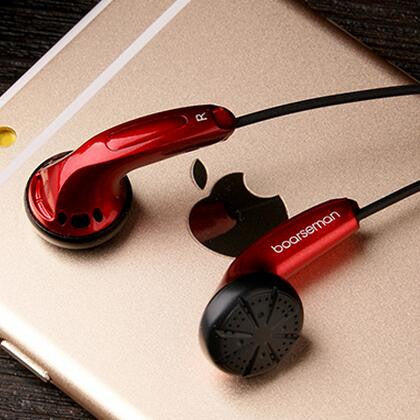 High Qaulity Flat Head Earbuds In Ear Headset Dynamic Earbuds