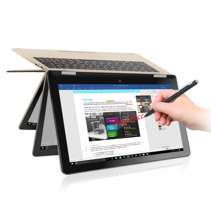 "VOYO Vbook A1 Quad Core 1.1-2.2GHz Win10 11.6""IPS tablet pc YOGA Pad"