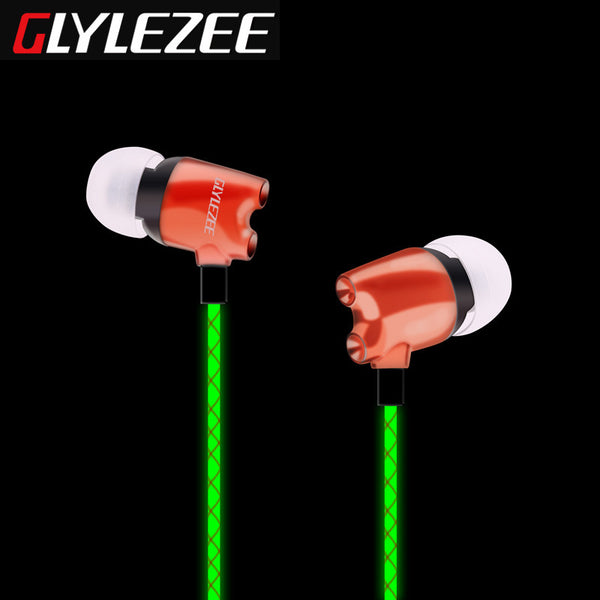 Glylezee G5 Luminous Rockets Head Music Headset