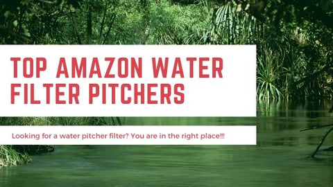 Water Filter Pitcher Amazon