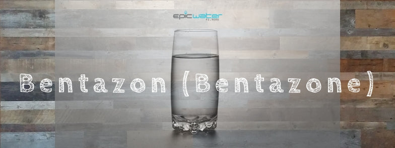bentazon water filter contaminant drinking tap water