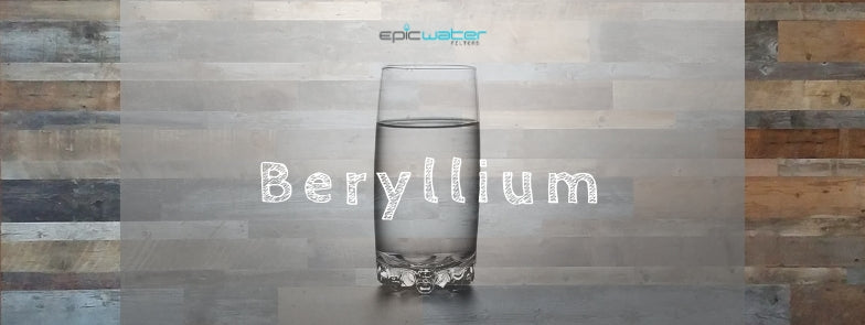 Beryllium Drinking Tap Water Filter