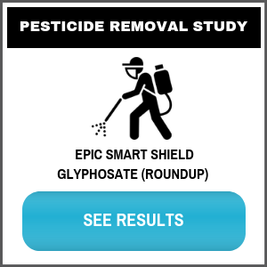Glyphosate Roundup Water Filter