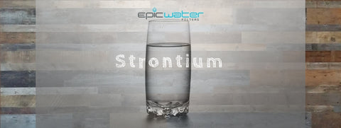 best way to filter strontium from water
