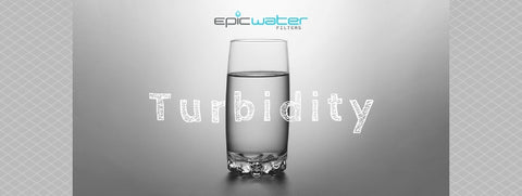 turbidity water filter health cloudy