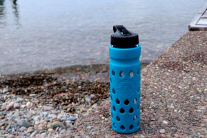The Escape | Glass Water Bottle with Filter
