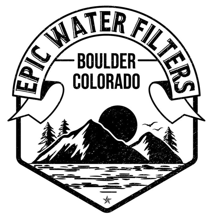 Epic Water Filters Vintage Sticker