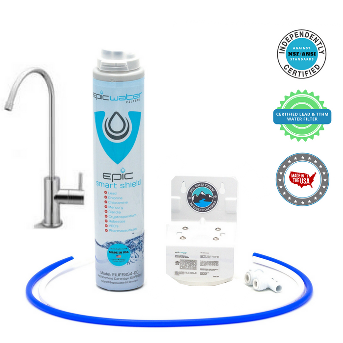 Epic Smart Shield w/ Dedicated Faucet