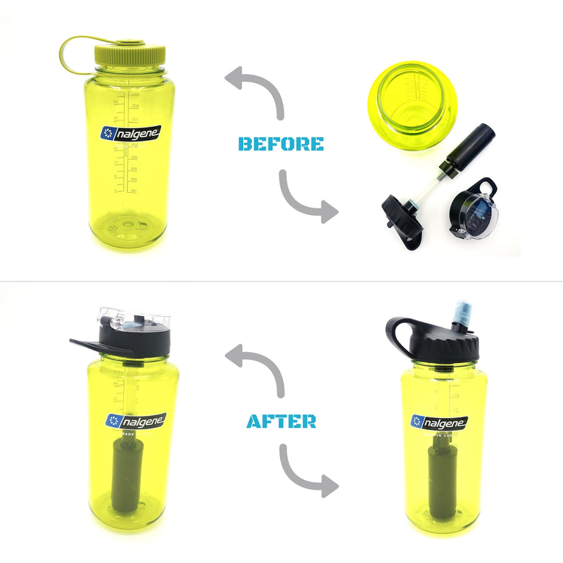 THE ANSWER | NALGENE Compatible Water Bottle Filter System