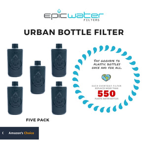Urban Bottle Filter | Multi-packs