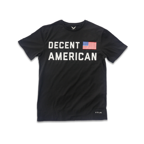 Decent American Premium T-Shirt- Black