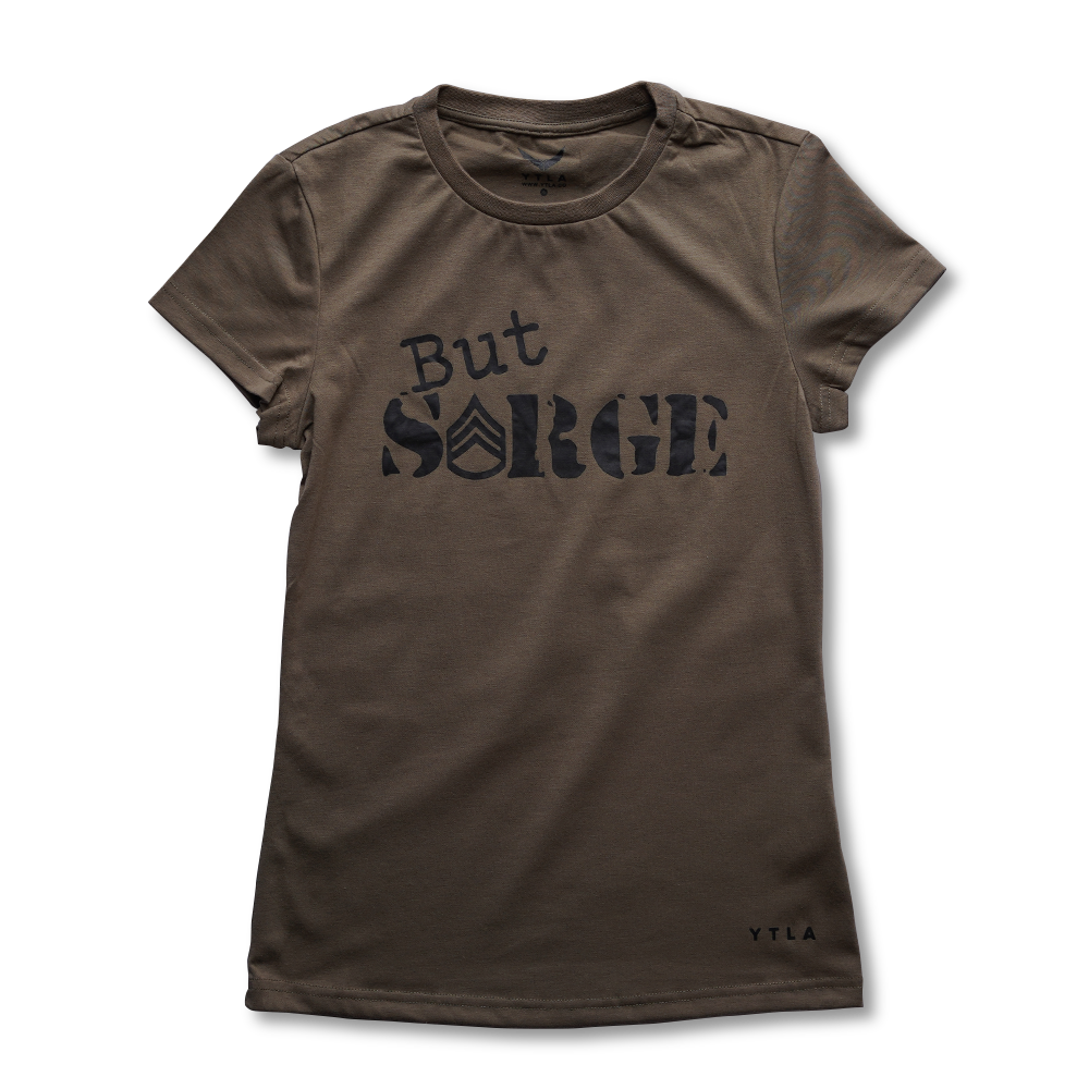 Women's But Sarge Premium T-Shirt - OCP