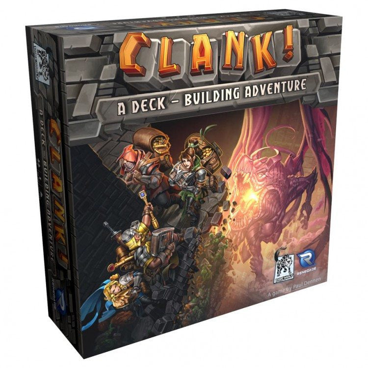 Clank! A Deck-Building Adventure