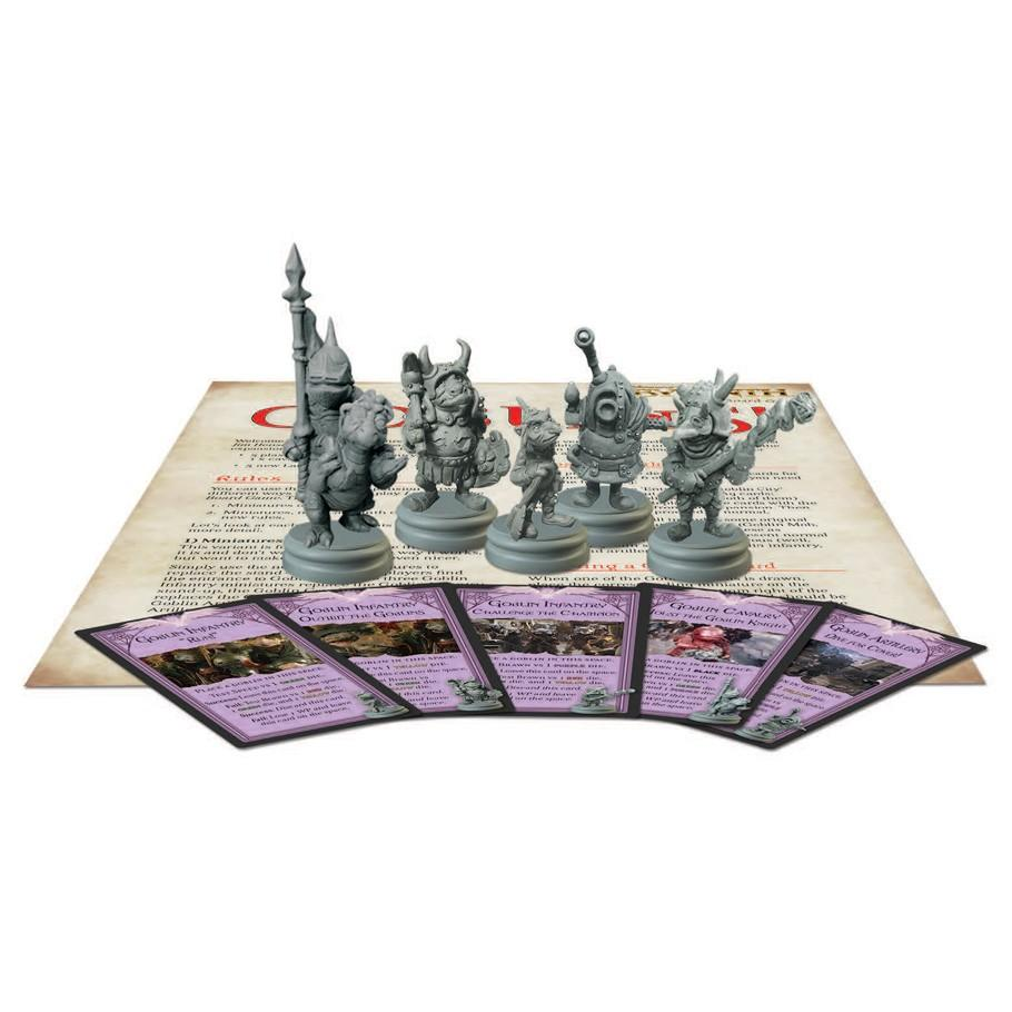 Contents of Jim Henson's Labyrinth: Goblins! Expansion