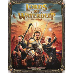 Dungeons & Dragons: Lords of Waterdeep Board Game Box Front