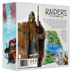 Raiders of the North Sea Box Back