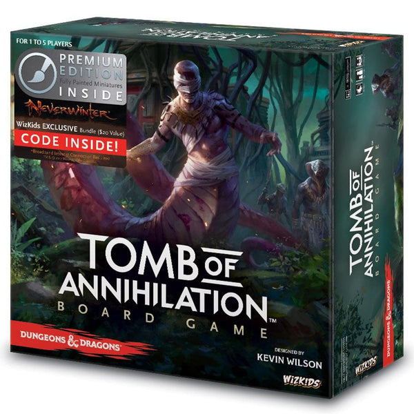 D&D: Tomb of Annihilation Premium Edition Board Game