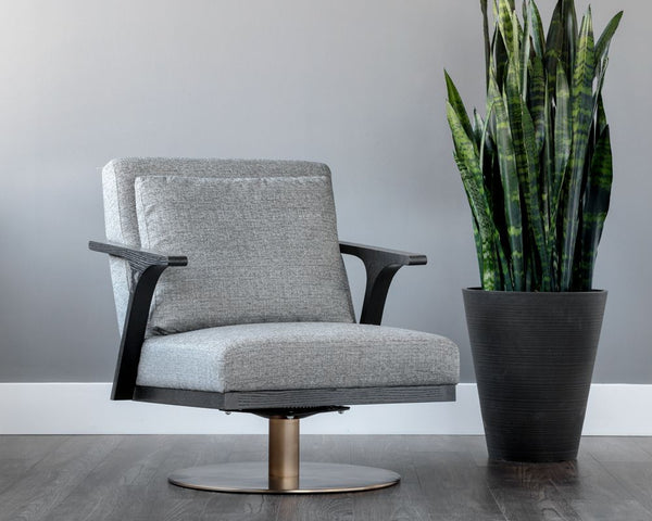 ALISA SWIVEL LOUNGE CHAIR