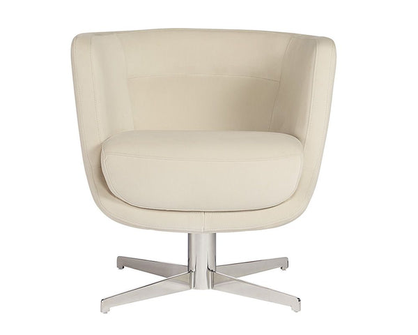 PRISSY SWIVEL LOUNGE CHAIR