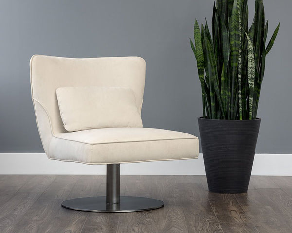OLIVE SWIVEL LOUNGE CHAIR