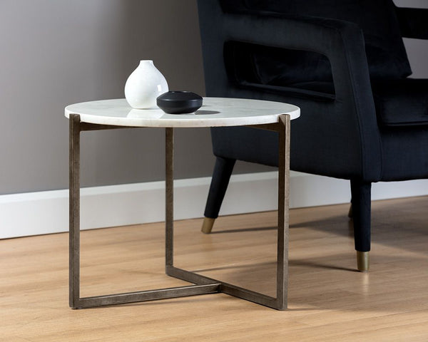 HANSON END TABLE - ROUND