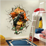 """The T-Rex"" Spectacular 3d Dinosaur Wall Sticker"