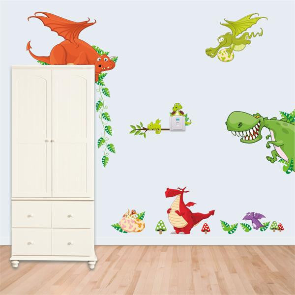 """Animal House"" The cutest Animal Wall Sticker Collection to Brighten Up Any Kids Room!"