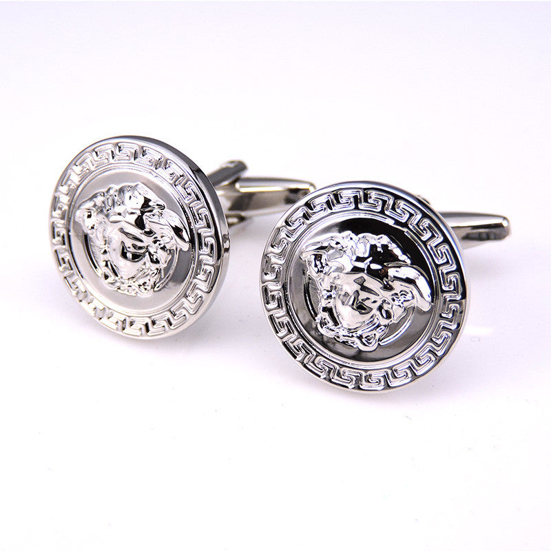 HYX Luxury shirt Napoleon head cufflink for mens Brand cuff buttons cuff links High Quality abotoaduras Jewelry