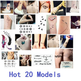 2017 NEW 300 Models waterproof temporary tattoo tatoo henna fake flash tattoo stickers Taty tatto  Fresh grass