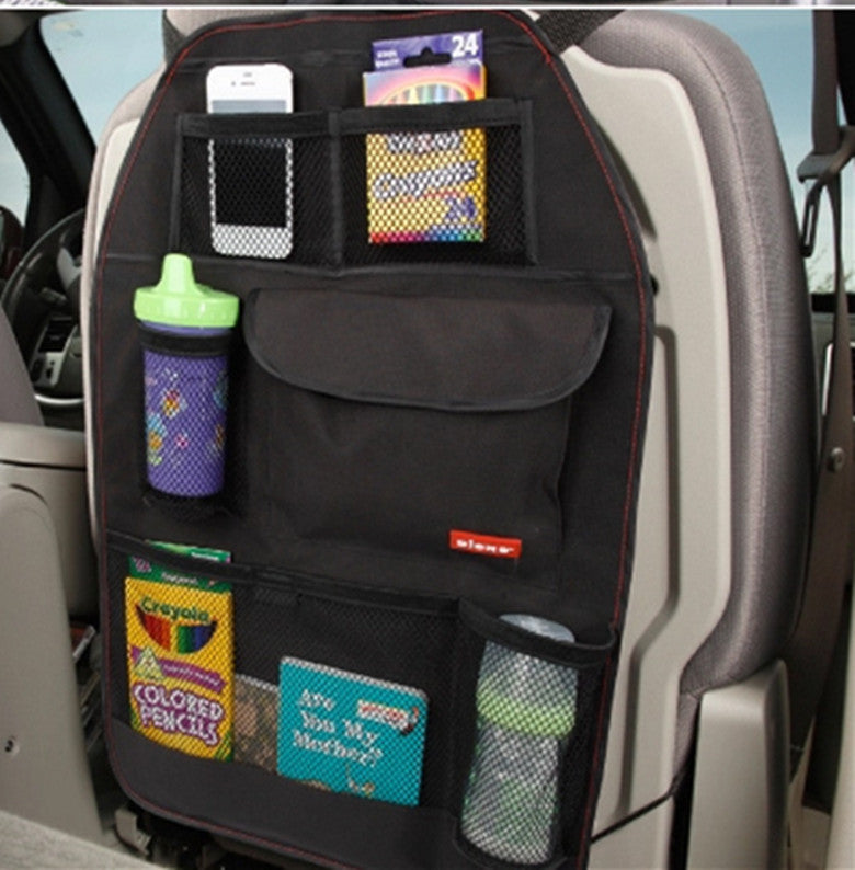 Car Seat Bag Storage Multi Pocket Organizer Back Accessories