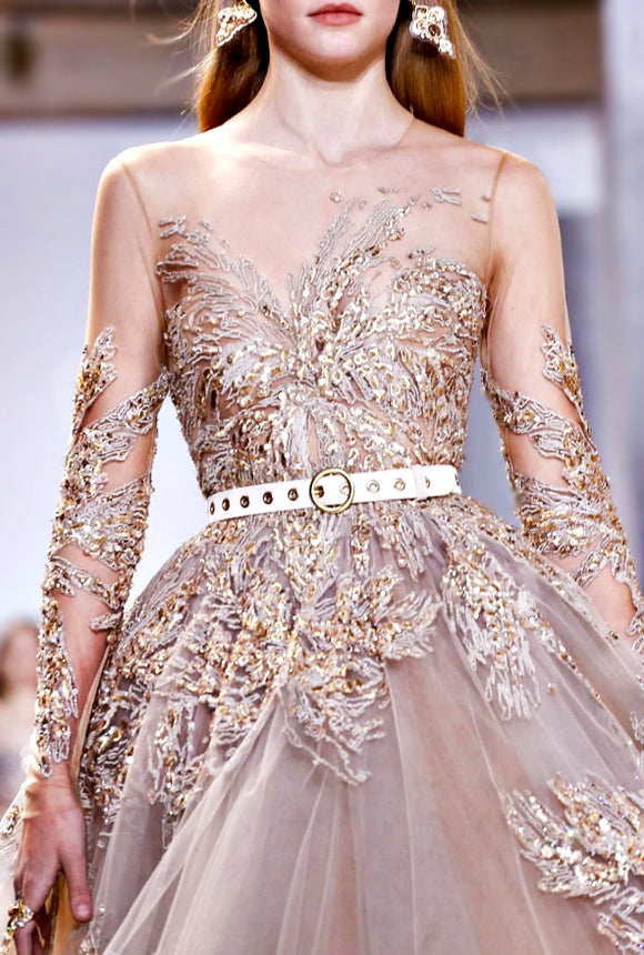#eliesaab #fashion #model #runway #style #elegant #hautecouture #couture #gown #dresses #dress #glam #glamorous #luxury #luxurious #chic #beauty #beautiful #expensive #highfashion #perfect #prety #designer #pfw #pfw201 #fall2017 #fashionweek #fashionista