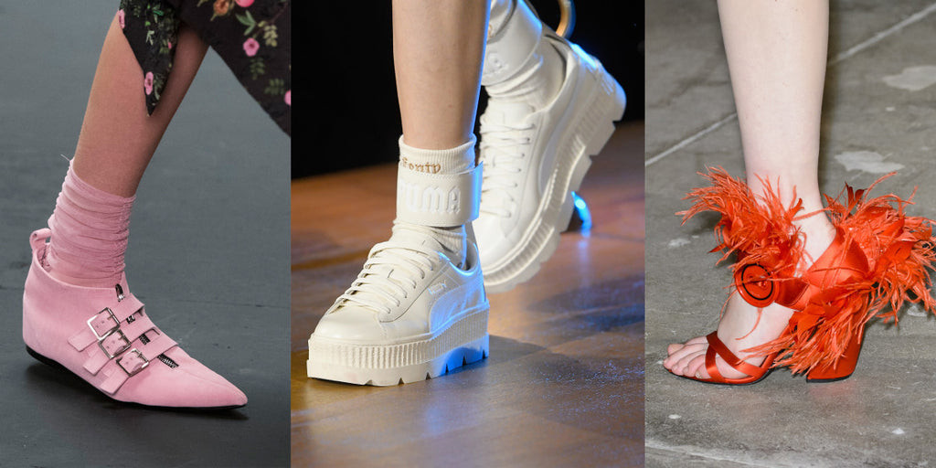 OMG (Fall 2017 runway) shoes: