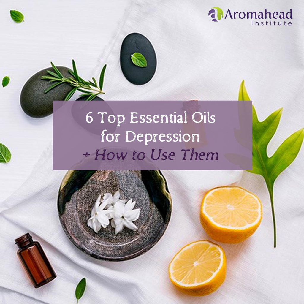 6 Top Essential Oils for Depression + How to Use Them