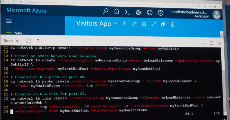 Microsoft builds a full cloud-based Bash shell into its Azure Portal  #MSBuild