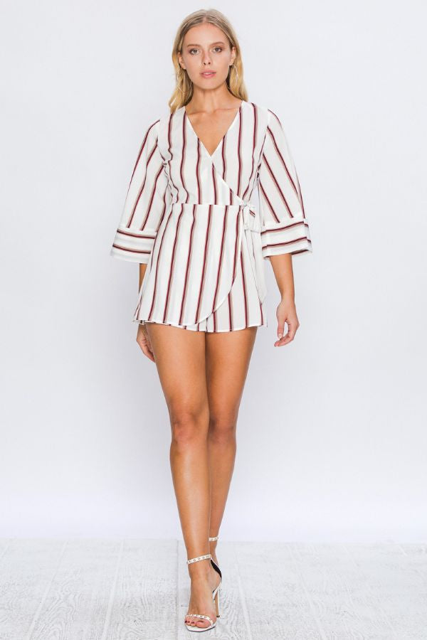 NATASHA STRIP ROMPER
