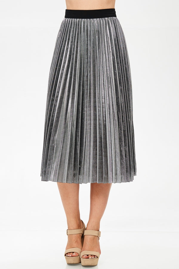 DISCO PLEATED SKIRT