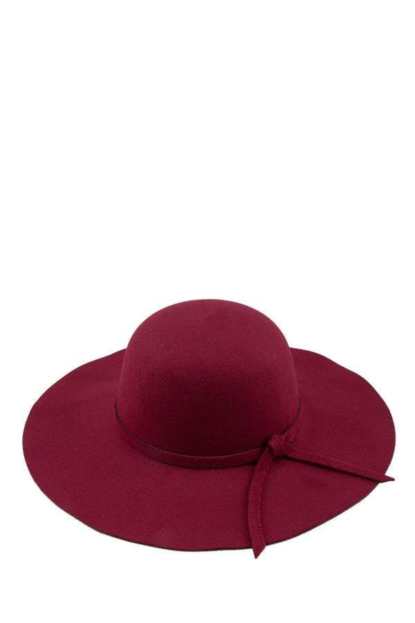 MARLEY DRESS HAT IN BURGUNDY
