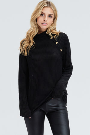 PHOENIX SWEATER - BLACK