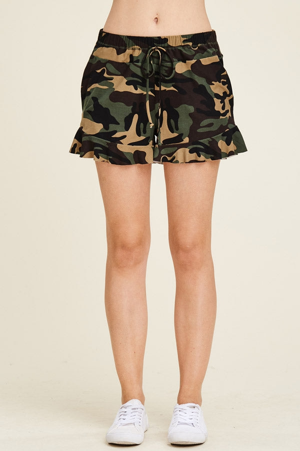 Load image into Gallery viewer, CAMOUFLAGE FORMATION SHORTS