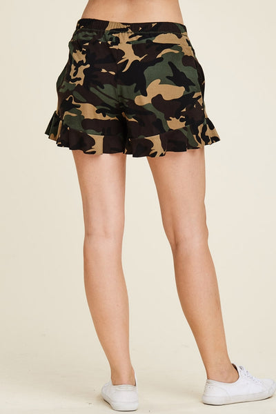 CAMOUFLAGE FORMATION SHORTS