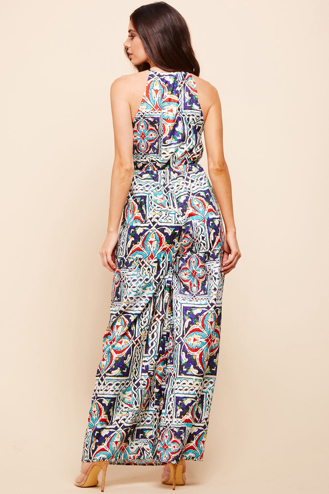 Load image into Gallery viewer, NIKITA JUMPSUIT - TRIBAL PRINT