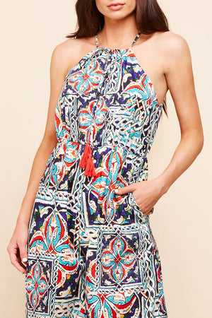 NIKITA JUMPSUIT - TRIBAL PRINT