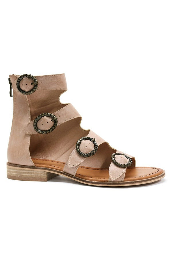 LOTUS BUCKLE SANDAL