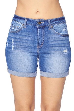 Load image into Gallery viewer, SOLA DENIM SHORTS