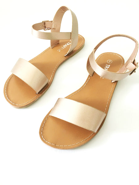 KYLEE SANDALS IN ROSE GOLD
