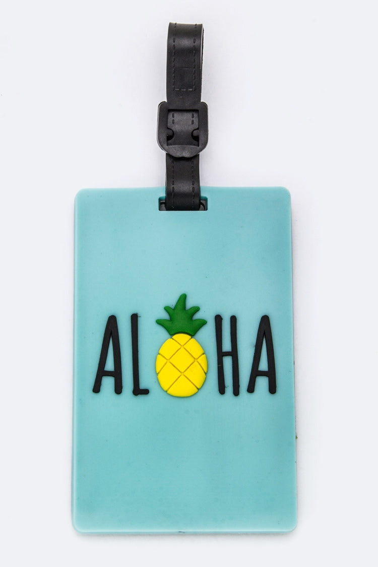 ALOAH JELLY LUGGAGE TAG