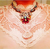 TUSCAN STATEMENT NECKLACE