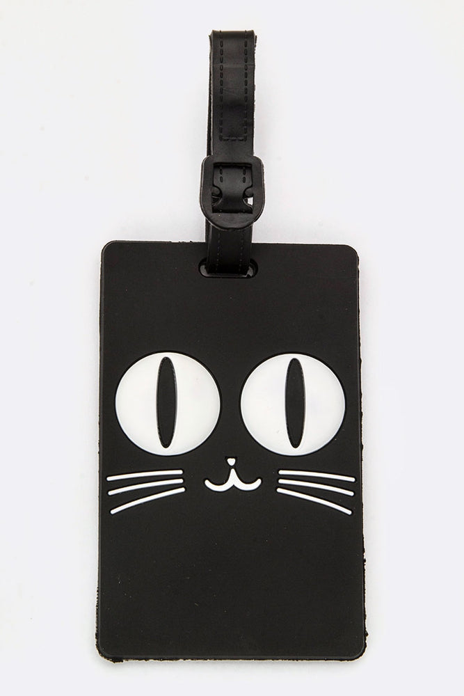 KITTY CAT JELLY LUGGAGE TAG